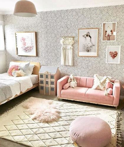 комната для девочки 10 лет в классическом стиле