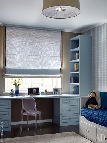 комната для мальчика 11 лет в классическом стиле