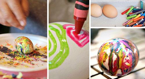 Красим яйца на Пасху: оригинальные идеи с помощью воскового мелка