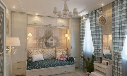 классическая детская комната для мальчика 5 лет