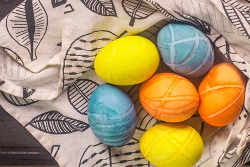 Красим яйца на Пасху: оригинальные идеи с фото 8