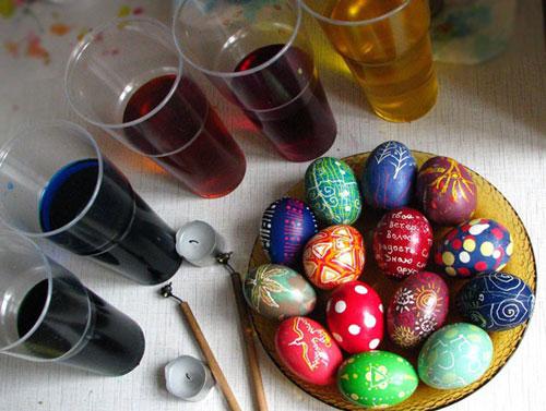 Красим яйца на Пасху: оригинальные идеи с фото 2