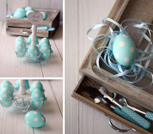 узор на яйцах - оригинальное окрашивание на Пасху