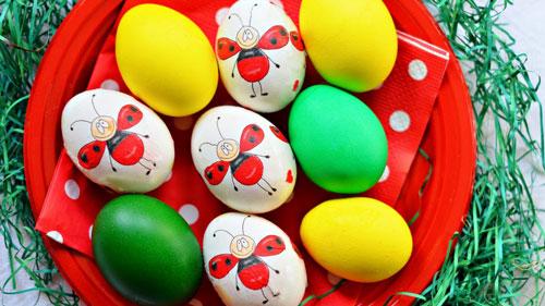 Красим яйца на Пасху: оригинальные идеи с помощью салфеток 6