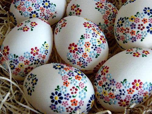 Красим яйца на Пасху: оригинальные идеи с помощью салфеток 4