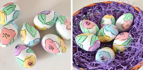 Красим яйца на Пасху: оригинальные идеи с помощью салфеток
