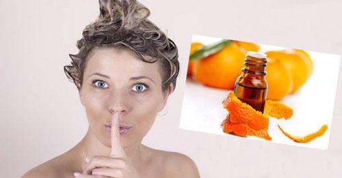 как применять эфирное масло апельсина для волос
