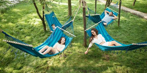 Идеи семейной фотосессии в гамаке