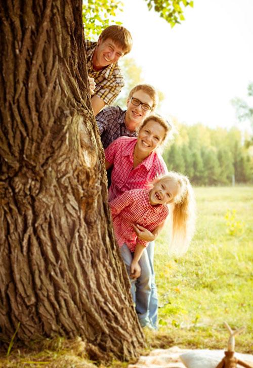 идеи для фотосессии у дерева