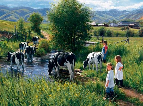Загадки про корову с ответами для детей