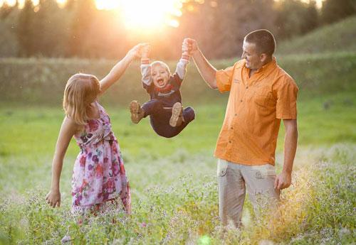 красивое фото семьи