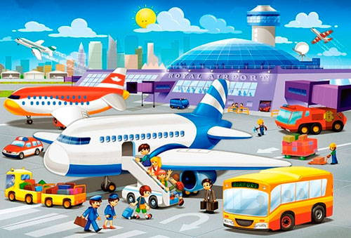 Загадки про самолет для детей 5-7 лет