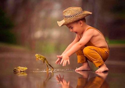 Интресные загадка про лягушку для детей
