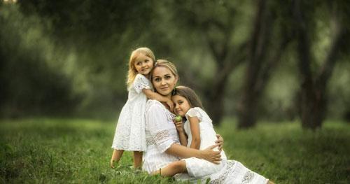 как красиво сфотаграфироваться летом всей семьей