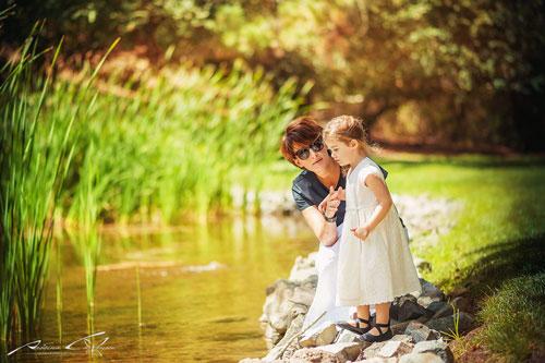 идеи для летней фотосессии для мамы и дочки
