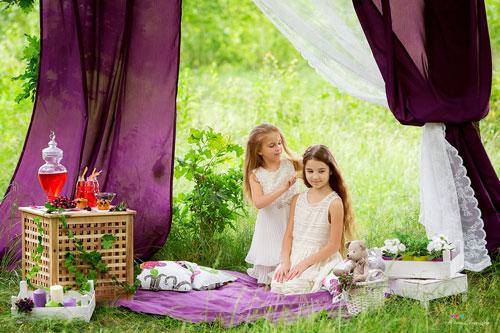 лучшии идеи для фотосессии на природе с шатром