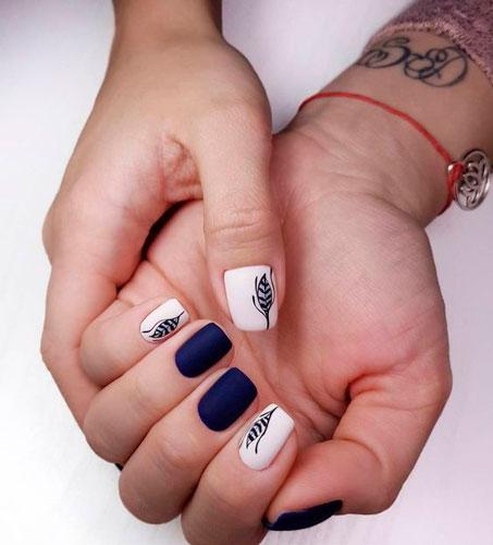 красивые матовые ногти гель лаком