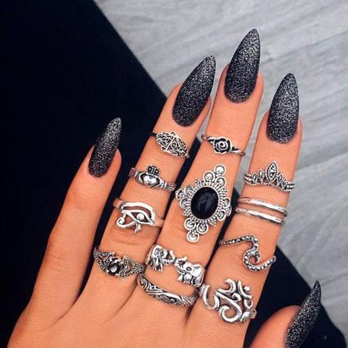 какой дизайн ногтей с матовым гель лаком выбрать