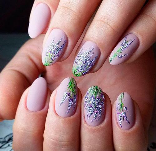 нежный дизайн ногтей гель лаком