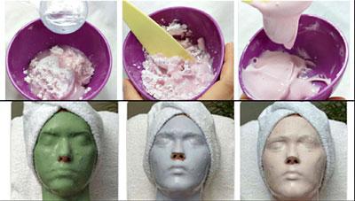 как делать альгинатные маски для лица от первых морщин в домашних условиях