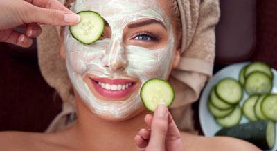 Огуречная маска для сухой кожи лица в домашних условиях