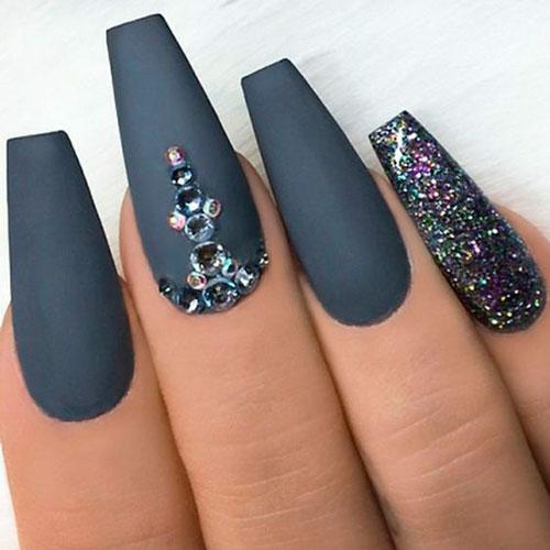 стильные ногти с покрытием гель лаком 2