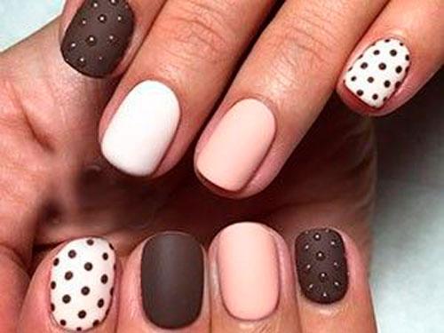 модный дизайн ногтей с покрытием гель лаком