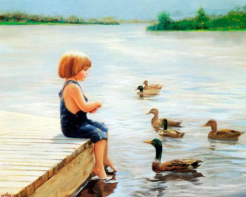 Стихи про утку для детей 5-7 лет