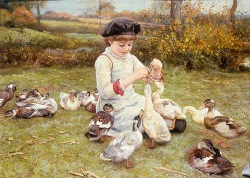 Детские стихи про утку