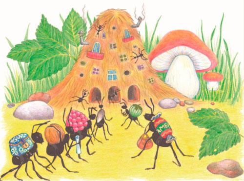 Загадки про муравья с ответами для детей 5-7 лет