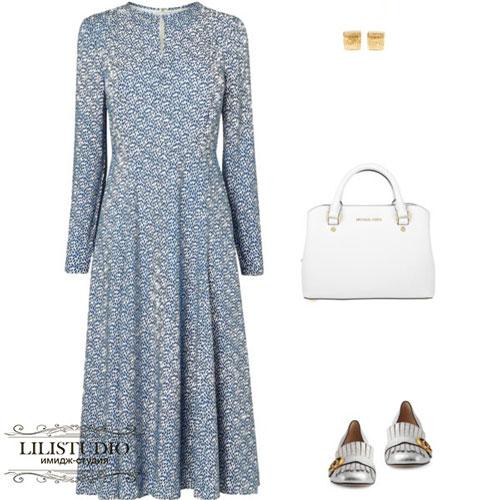 Как одеться на 1 сентября маме: платье и сумка