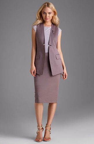 Как одеться на 1 сентября маме: деловой стиль