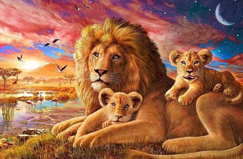 Загадки про льва с ответами для детей 5-7 лет