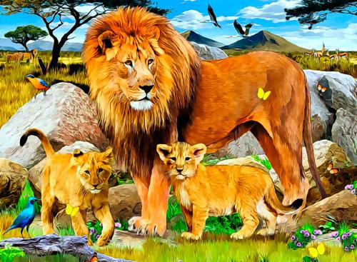 Загадки про льва с ответами для детей 7-9 лет