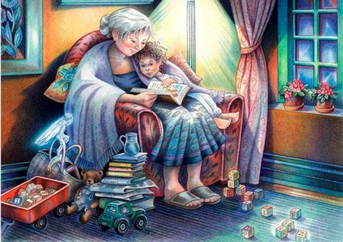 Лучшие стихи и поздравления ко дню бабушек