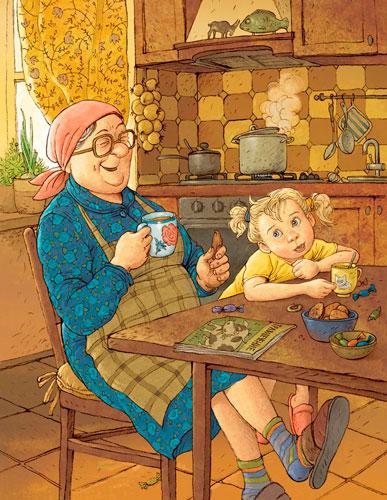 Красивые стихи и поздравления ко дню бабушек