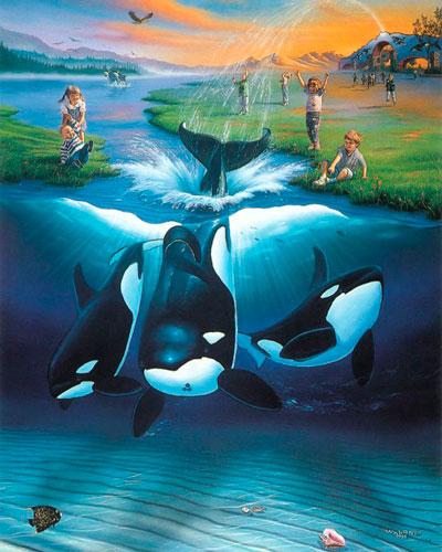 Загадки про кита с ответами для детей