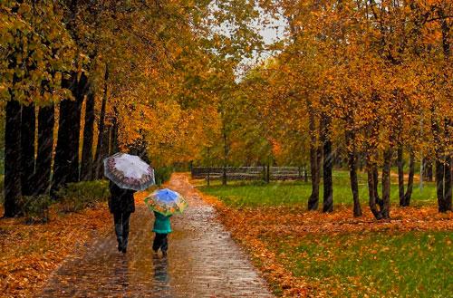 Трогательные стихи про осень