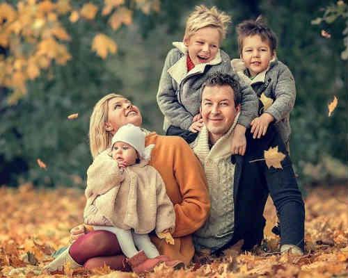 Идеи для детской фотосессии осенью 3