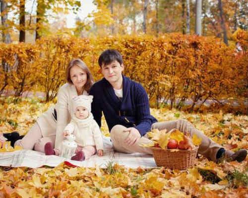 Осенняя фотосессия с детьми 5