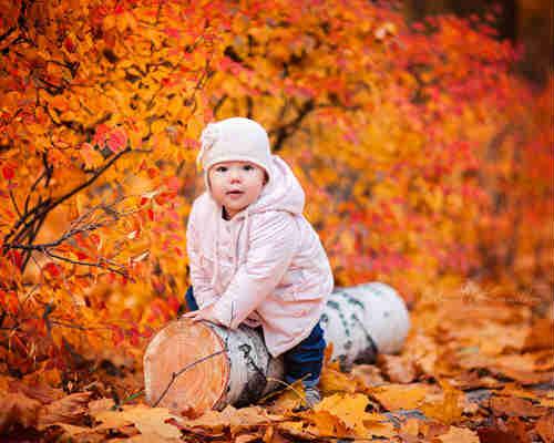 Осенняя фотосессия с детьми 8