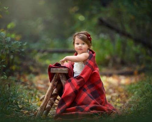 Краски осени: детская фотосессия 8