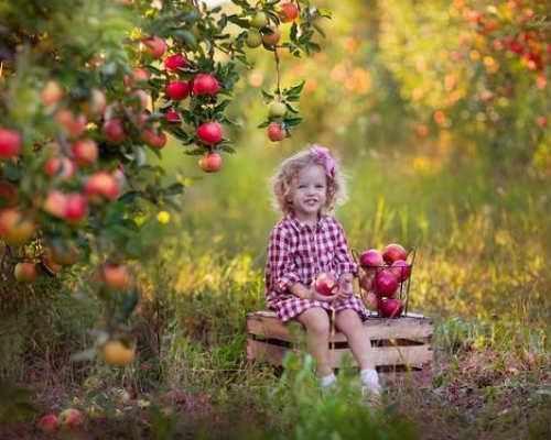 Идеи для детской фотосессии осенью 2