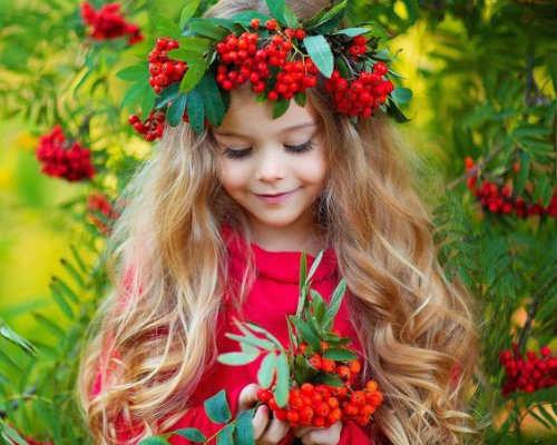 Золотая осень: детская фотосессия 4