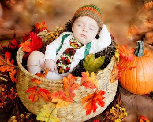 Осенняя фотосессия с детьми 9