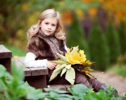 Идеи для детской фотосессии осенью 9