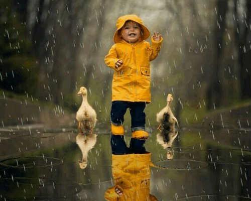 Фотосессия на природе осенью 5
