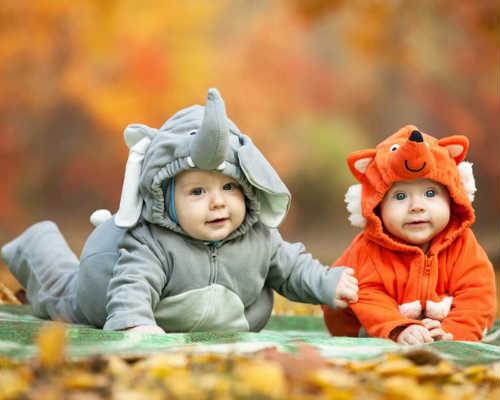 Краски осени: детская фотосессия 4