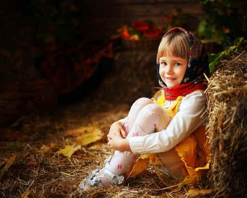 Идеи для детской фотосессии осенью 1