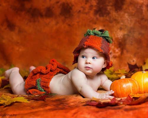 Детская осенняя фотосессия 9